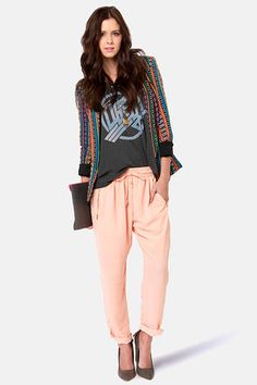 Love this look + tribal blazer from Gypsy Junkies