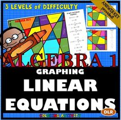 Stained Glass Window Linear Equation Worksheet