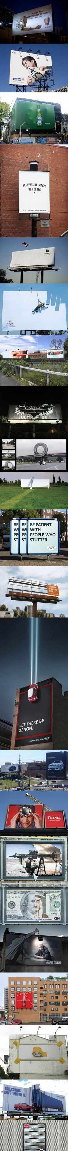 Awesome billboards.