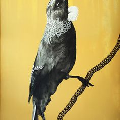 Original painting SOLD, acrylic and flashe on canvas 1630 x (including frame), the story of the artwork >> Print sizes and editions (limited to Extra large canvas - 1262 Artwork Prints, Fine Art Prints, Canvas Prints, Tui Bird, Pet Birds, Original Paintings, Artist, Animals, Animales