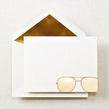 My Intimate Affair with Fashion: Sunglass Note {Stylish Stationary}