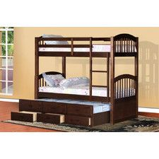 Bunk & Loft Beds - Finish: White, Features: Trundle Bed Available | Wayfair