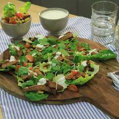 Image for Fläskkarré med mexikansk rub och majssallad