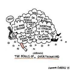 British illustrator Gemma Correll combines art and humor to cope with the depression and anxiety disorder she's dealt with throughout her life. Living With Depression, Understanding Anxiety, Funny Illustration, Anxiety Disorder, Mental Disorders, Social Anxiety, Anxiety Humor, Mindfulness, Thoughts