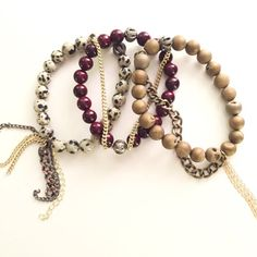 The Venice Set by KYSSBracelets on Etsy