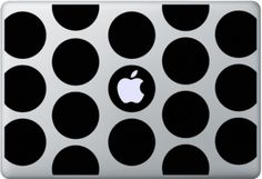 Circles Galore Macbook Skins