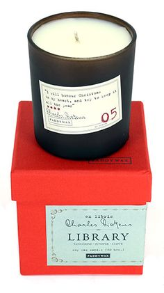 charles dickens candle @ strand
