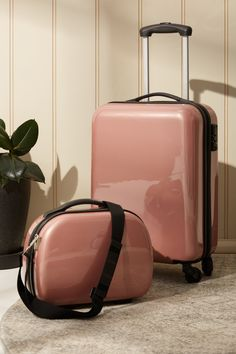 Tsa Small Suitcase | Stationery, Backpacks & Homewares | Typo Luggage Straps, Carry On Luggage, Typo Shop, Best Suitcases, Pink Shoulder Bags, Cosmetic Case, Laptop Backpack, Stationery, Backpacks