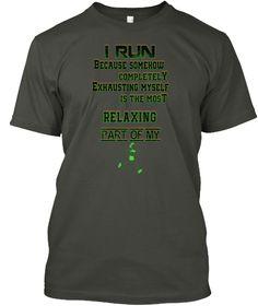 #Best#Running#Fitness T Shirt Ltd Editio Smoke Gray T-Shirt Front