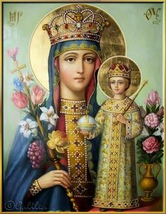 Znalezione obrazy dla zapytania Charles Bosseron Chambers' painting 'The Madonna of the Sacred Coat. Divine Mother, Blessed Mother Mary, Blessed Virgin Mary, Religious Images, Religious Icons, Religious Art, Madonna Und Kind, Madonna And Child, Catholic Art