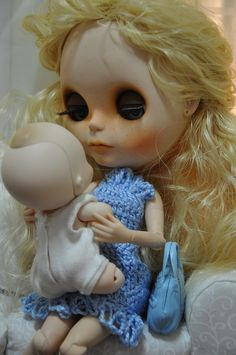 Blythe with baby