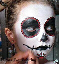 Maquillaje de halloween para niños - Catrina
