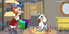Ensine seu cachorro a guardar seus brinquedos - Seu cachorro deixa tudo espalhado pela casa? Calma, veja como é fácil ensiná-lo guardar seus brinquedos.
