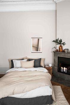 Parure de couette en lin lavé - Beige lin - Home All | H&M FR 1