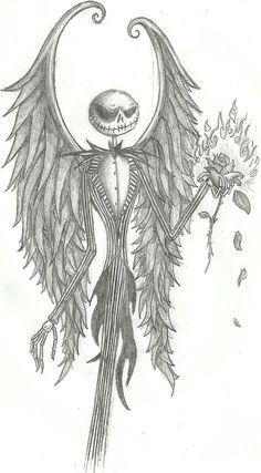 DeviantART Jack Skellington Drawing
