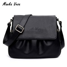 High Quality Leather Womens Handbags Casual Female Shoulder Bags Women Messenger Crossbody Bag Fashionable Female Bag (32797411068)  SEE MORE  #SuperDeals
