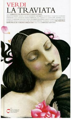 La Traviata : Ana Juan    Ana Juan's illustrations in the children's book - Frida - made me a lifelong fan. Gorgeous soft lines!