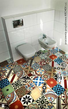 Mise en scène du patchwork aléatoire de Mosaic del Sur (carreaux ...