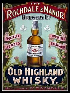 "Old Highland Whisky Metal Sign by OMSC. $15.49. Rounded corners with holes for easy hanging. Eco-friendly process, hand-made in the USA. Glossy, full-color, enamalized imaged baked onto thick, 24-gauge steel. Ships in Ploy-bag for complete protection. This sign measures 16"" by 12"". This metal sign measures 16"" x 12"" and is hand-crafted in America. It will perfectly accent any kitchen, home, bar, pub, game room, office or garage. Each metal sign is produced by hand, using ..."