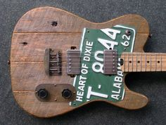 Custom electric guitars and basses made from local and salvaged materials Custom Bass Guitar, Custom Electric Guitars, Custom Guitars, Electric Cello, Best Acoustic Guitar, Music Guitar, Cool Guitar, Acoustic Guitars, Guitar Parts