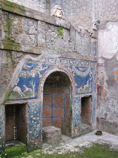 House of Neptune and Amphitrite, Herculanum, Italy
