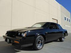 1987 Buick Grand National Coupe Buick Grand National Gnx, Vintage Cars, Antique Cars, Gm Car, Buick Regal, Cadillac Eldorado, Dream Garage, Car Detailing, Sport Cars