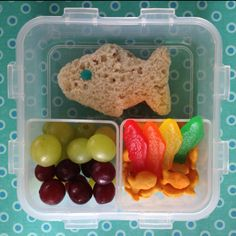 One fish, two fish, red fish, blue fish #bento