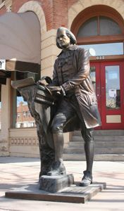 Thomas Jefferson - Third President of the United States (1801-1809) Corner of 7th St. & Saint Joseph St.