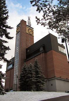 Vesilinna tower in Jyväskylä