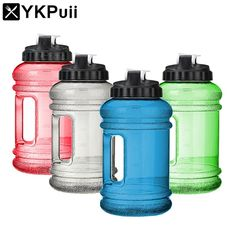 2.2L Big Mouth BPA Free Sport Gym Training Drink Water Bottle Cap Large Capacity Kettle for Outdoor Picnic Bicycle Bike Camping