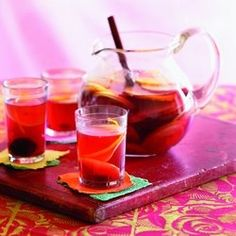 Recipe: Mexican Christmas Punch. diablo-recipes