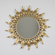 Espejo sol redondo vintage | Antic&Chic