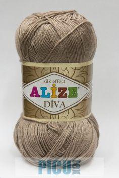 Poze Fir de tricotat sau crosetat - Fir microfibra ALIZE DIVA BEJ 167 Diva, Winter Hats, Coil Out, Godly Woman