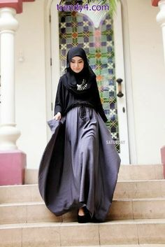 Pretty Indonesian Hijab Fashions 2014
