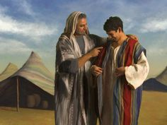 In Genesis 37:31, Joseph's brothers after selling him into Egyptian slavery, took his coat and dipped it in the blood of a kid (a goat).