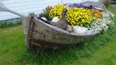 Annet:  Vene uusiokäyttöön :) Beach Gardens, Summer Kitchen, Beautiful Gardens, Yards, Gazebo, Garden Design, Toilet, Garden Ideas, Kitchens