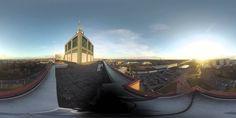 Spektakuläre 360-Grad-Perspektive vom BraWoPark
