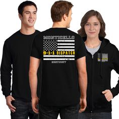 Offer # DD-DISP Show you are the driving force of First Responder by wearing these high quality shirts. We are making these items available starting at a tremendous price of ONLY $9.95 for short sleev