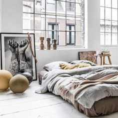 Decoración de un loft estilo nórdico