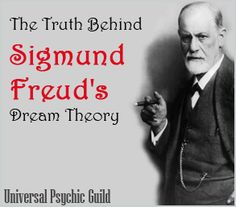 froidin dreams | The real meaning of Sigmund Freud's Dream Theory | Psychic Guild ...