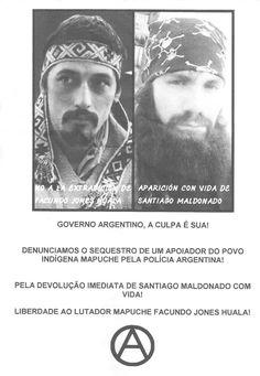 A luta Mapuche e o desaparecido político Santiago Maldonado
