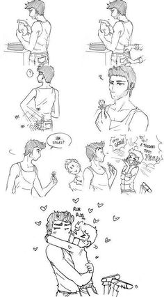 I swear I don't ship these two. The fanart is just so cute I can't help pinning.