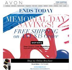 memorial day online sales