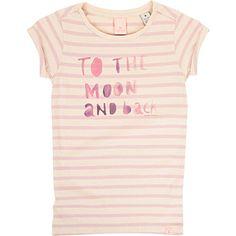 SCOTCH R'BELLE Slogan t-shirt 4-14 years (Pale pink