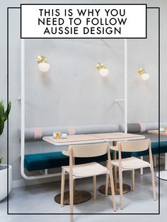 Why you need to be following Aussie design