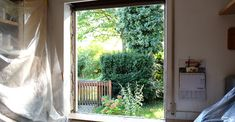 Rennovating does not have to be stressful. Actually, it can be quite easy and inspirational. Life Hacks, About Me Blog, Windows, Inspirational, Curtains, Home Decor, Refurbishment, Wood Windows, Old Windows