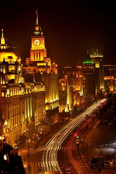 The Bund New Image after reconstruction, Shanghai, China, Asia Visit Shanghai, Shanghai City, Shanghai Bund, Great Places, Places To Go, Ancient Greek Architecture, Gothic Architecture, India Architecture, The Bund