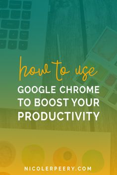 What if you could use a tool we usually see as a distraction machine to make you more productive? Click through to learn my favorite tips, tricks, and extensions for using Google Chrome to get stuff done.