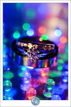 One of my favorite ring shots. ABSOLUTELY LOVE THIS!!!!!!!!!!!!!! Especially for a new years eve wedding!!!!!!