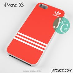 Red Horizontal Strips Adidas Phone case for iPhone 4/4s/5/5c/5s/6/6 plus